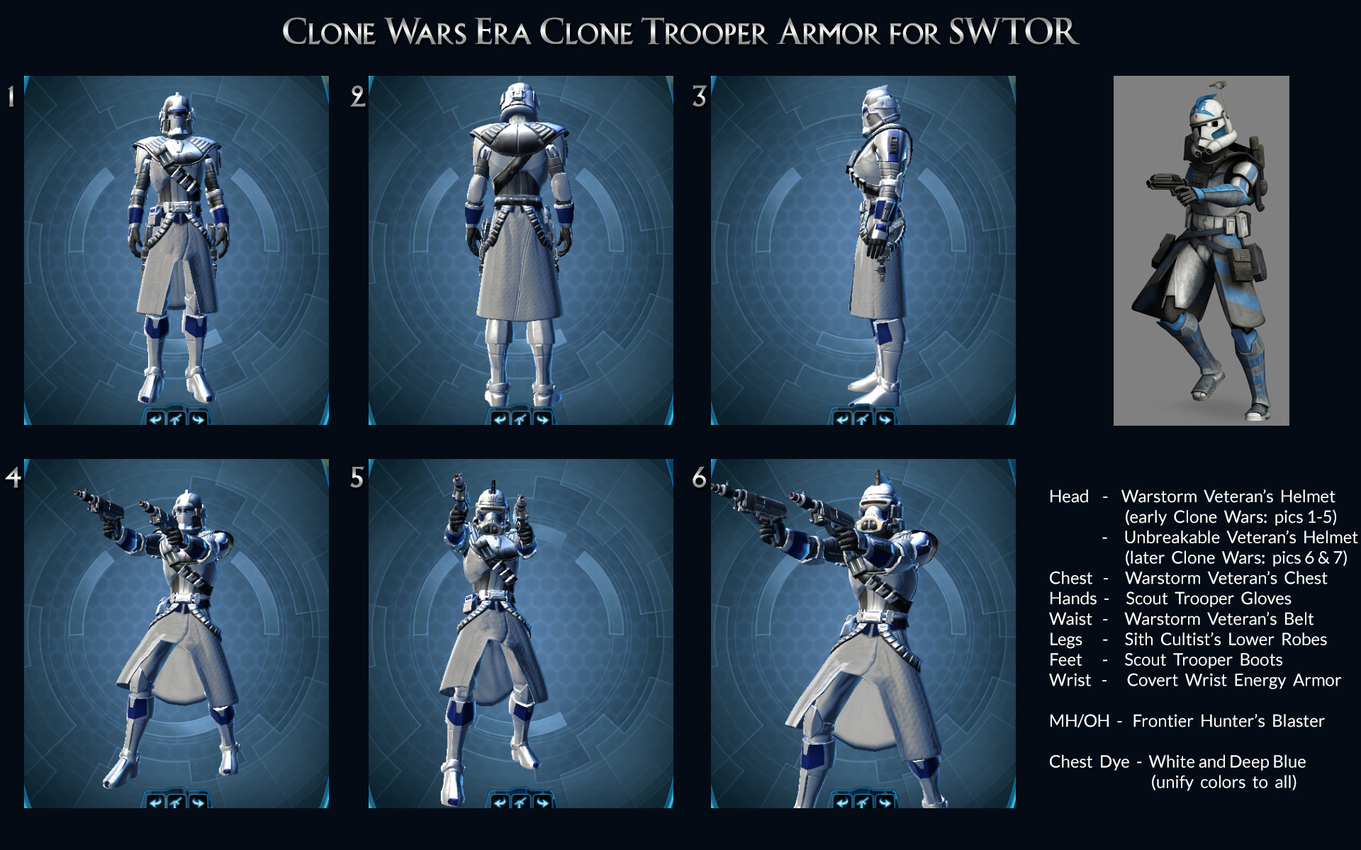 Arc Troopers Spotted In Swtor The Silverknight Legacy